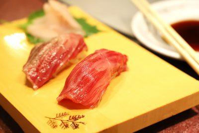 極上炙り寿司