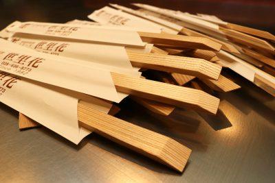 国産杉の割り箸