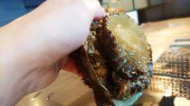 アワビのステーキ