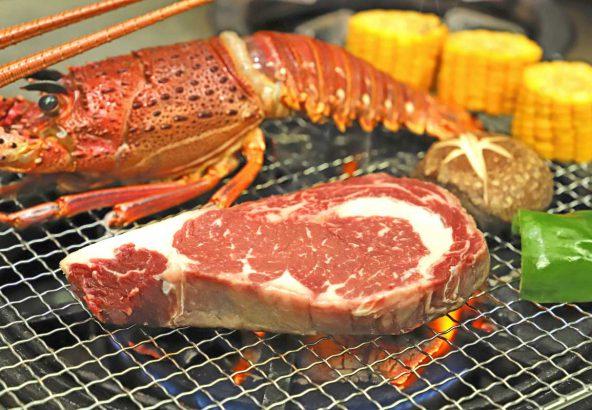 バーベキュー肉